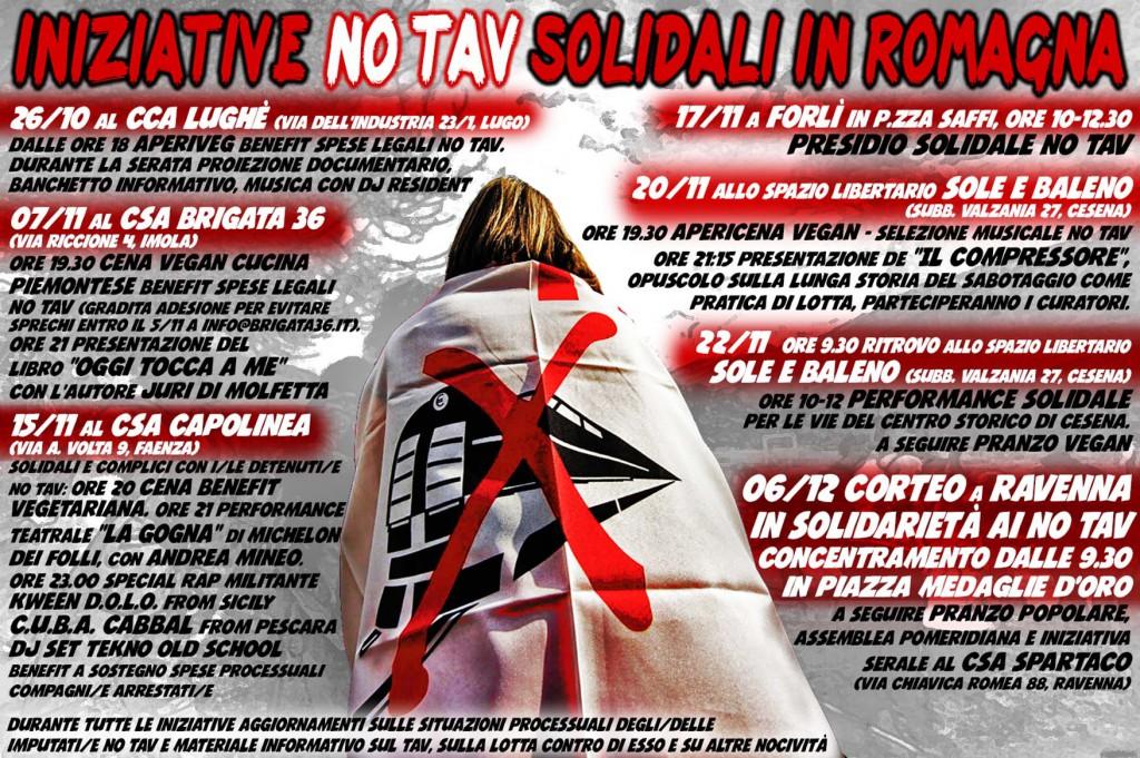 """No Tav, la """"Polentata"""" come nuova iniziativa del movimento"""